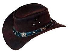 Westernhut Cowboyhut Kinderhut Kinderhüte Cowboyhüte Lederhut Hut für Kinder AFH