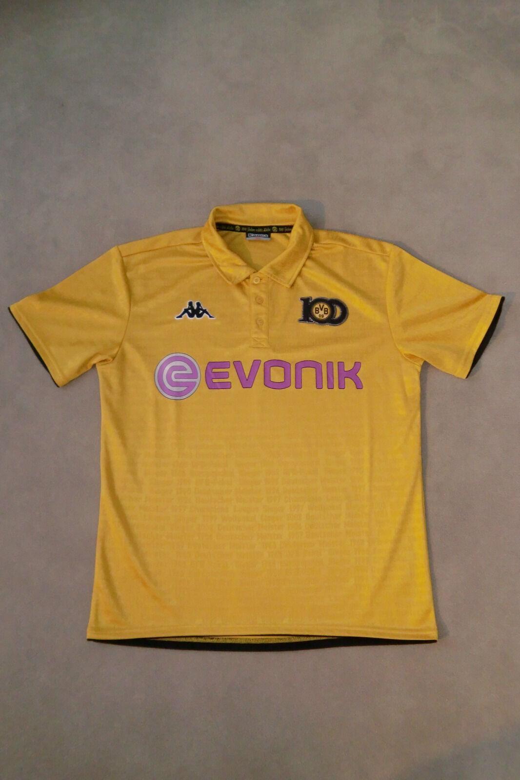 BVB Borussia Dortmund Trikot XL zum 100 jährigen Vereinsjubiläum (2009)