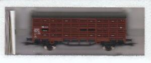 Roco-Playtime-47525-Guterwagen-Viehwagon-Verschlagwagen-Spur-H0