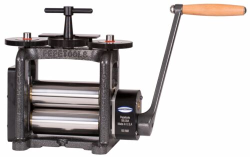 PepeTools Flat Rolling Mill Ultra With 160mm Wide Rollers, Made in USA