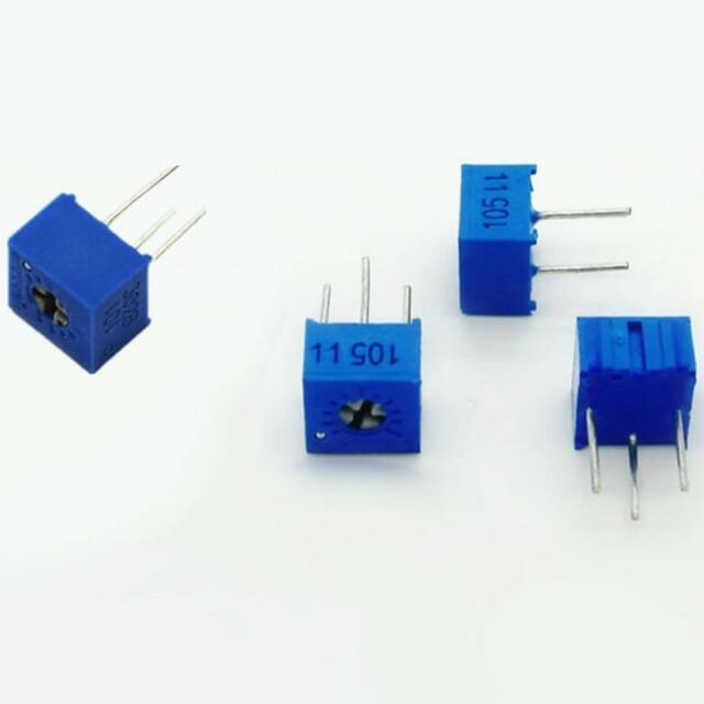 10Pcs 3362P-203 3362 P 20K ohm High Precision Variable Resistor Potentiometer