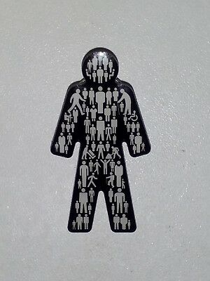 BRAND NEW Prostate Cancer UK Men United Pin Badge Sealed OFFICIAL !