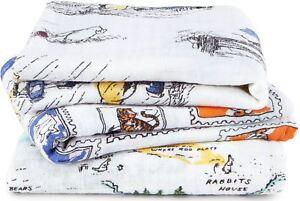Adroit Aden + Anais Disney Baby Mousseline Carrés Pack 3 Winnie L'ourson Coton Bn-afficher Le Titre D'origine Ventes De L'Assurance Qualité