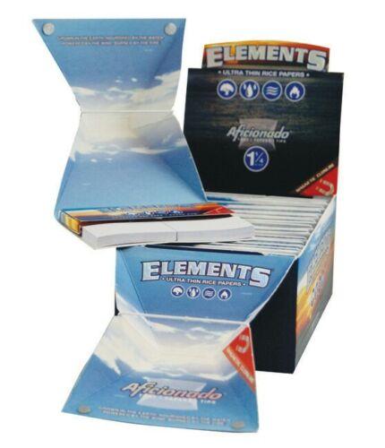2 x ELEMENTS® Aficionado™ 1¼ Size Tray Tips Paper