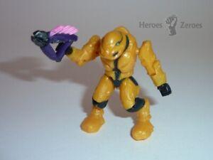 Halo Mega Bloks Set #96997 Covenant Armory Pack II Yellow Elite Commando Needler