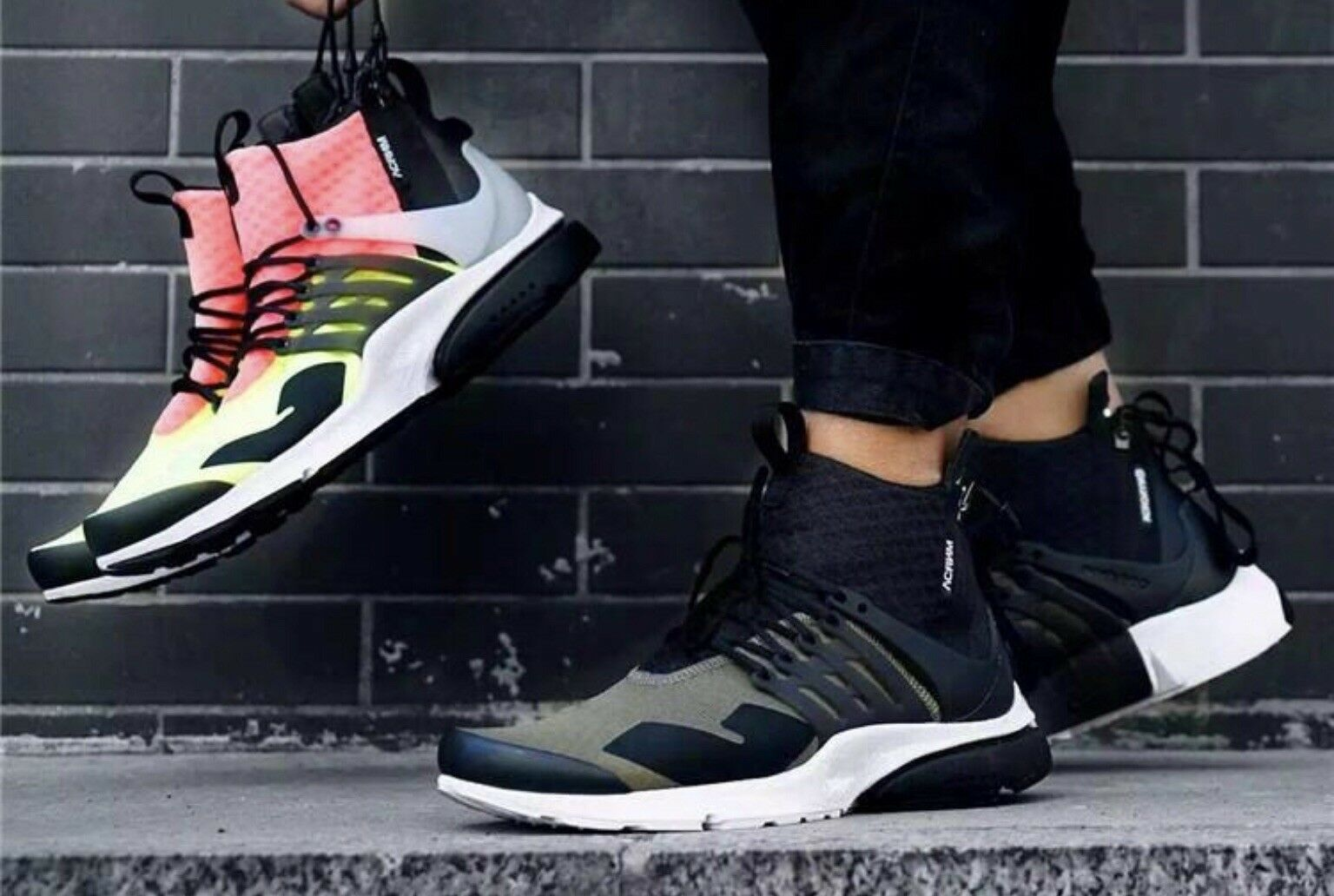 Nike Air Presto Mid Utility X Acronym Dynamic Bundle All Size 7