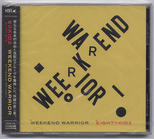 80KIDZ-Weekend-Warrior-2010-Japan-only-promo-CD-SEALED-Eighty-Kidz