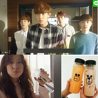 EXO CHANYEOL chan yeol exodus water bottle with bag KPOP EXO Next Door