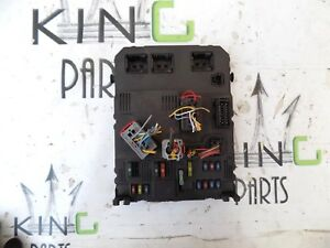 Details about PEUGEOT 206 1998-2008 (Fit: CITROEN XARA PICO) FUSE BOX on
