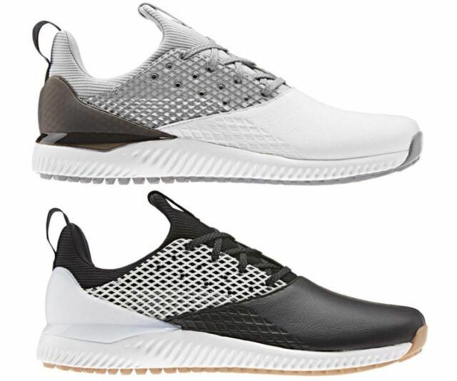 Onza oler frutas  adidas Adicross Bounce Leather Golf Shoes White/core Black/blue UK 9 for  sale | eBay