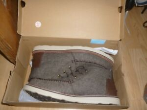 f62f8bce845 Image is loading Mens-Toms-Chocolate-Brown-Brushed-Woolen-Chukka-boots-