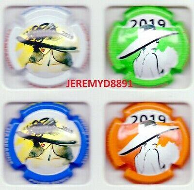 Capsules de champagne Série Remy S Fleurs 2020