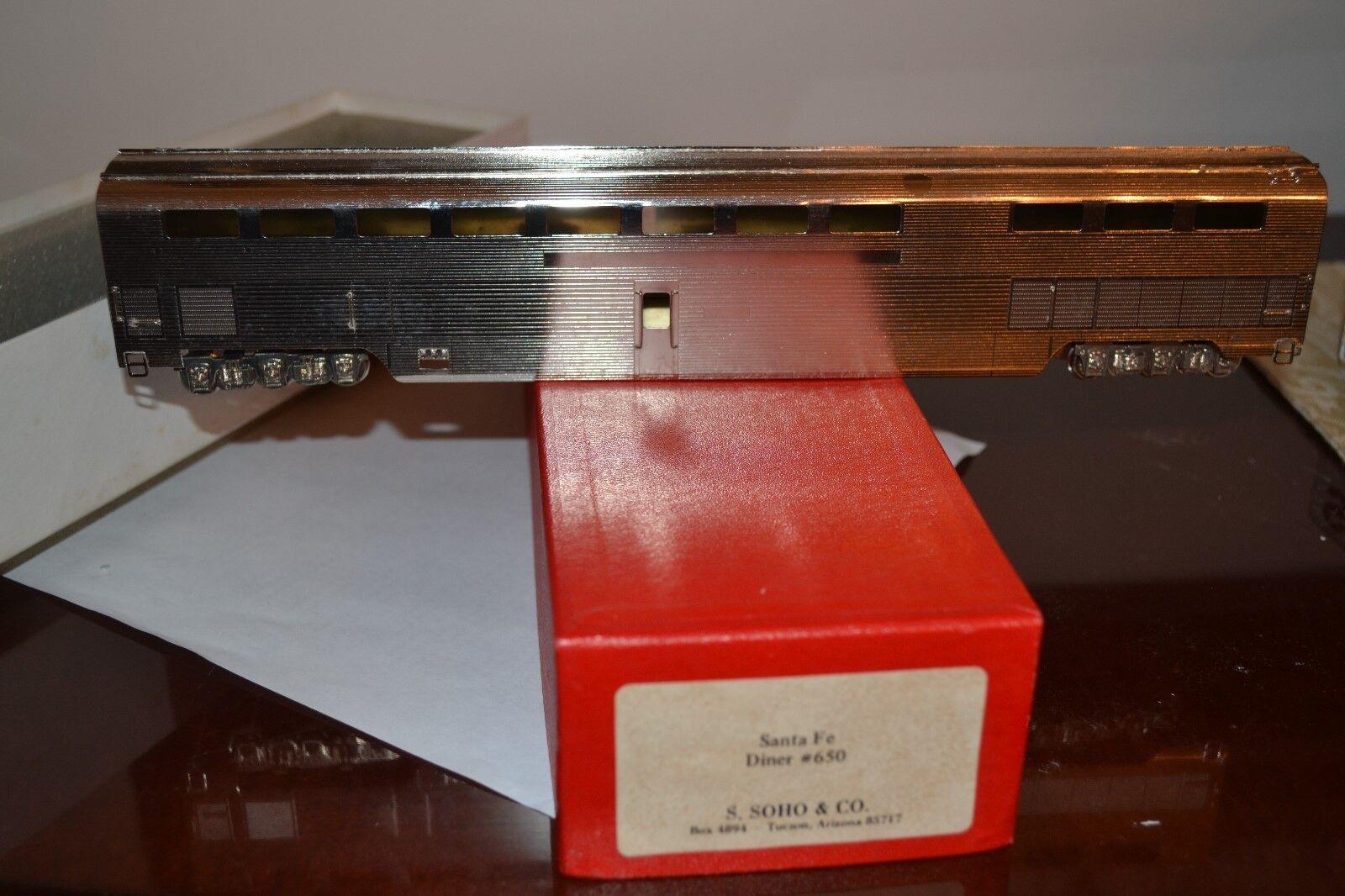 BRASS - SOHO - SANTA FE  ATSF  DINER  650