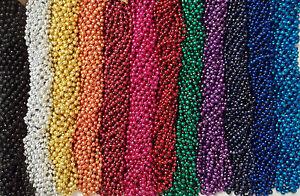 48-Choice-Mardi-Gras-Beads-Football-Party-Tailgate-BCS-Playoff-4-Dozen-Lot