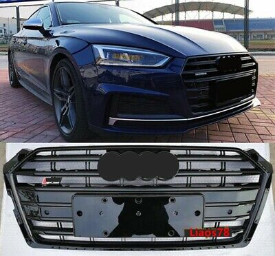 Fit FOR AUDI A5 S5 B9 2017 2018 2019 FRONT BUMPER GRILLE ...