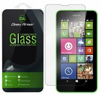 Dmax Armor® Nokia Lumia 635 / 630 Tempered Glass Screen Protector Saver Shield