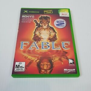FABLE (Microsoft XBOX Original) PAL Video Game - Complete