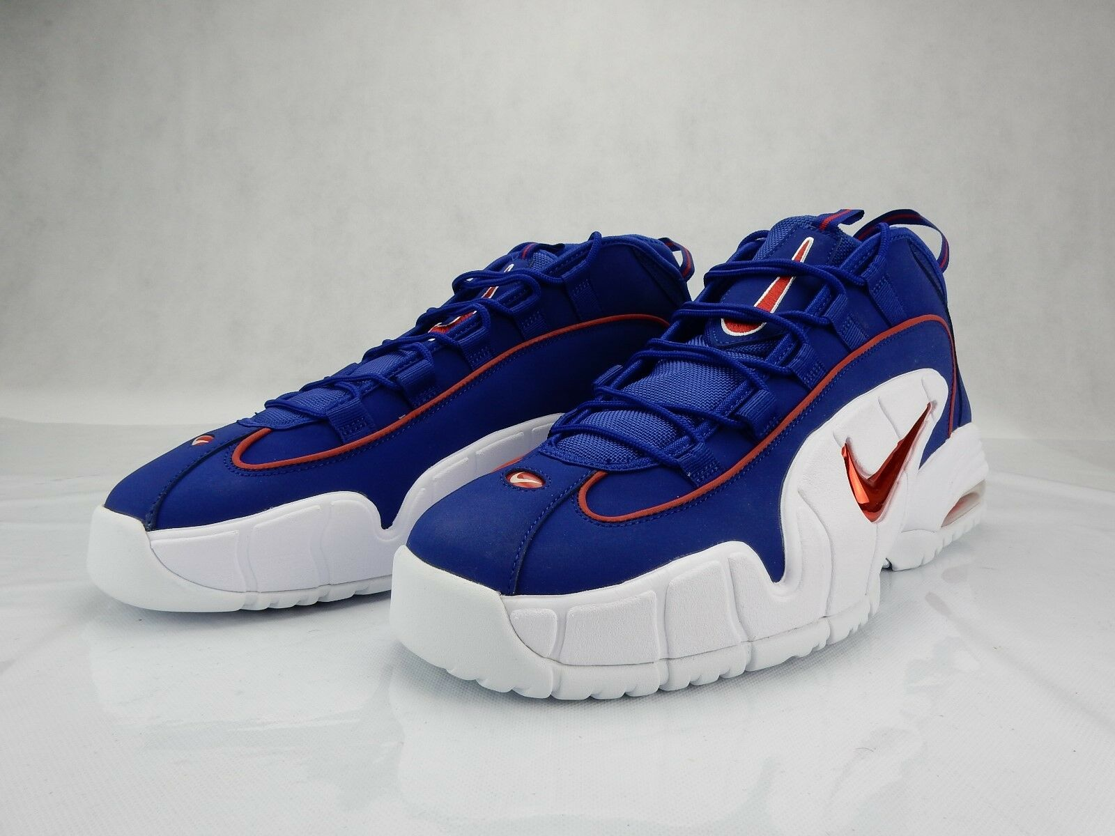 Nike Air Max Penny 1 Lil Penny 685153 400 White Red Blue New Mens Size 12.5 S