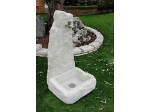 Fontana Giardino Pietra : Bonfante fontana fontanella da giardino pietra ricostruita houston