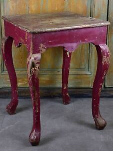 Chinese Side Table.Antique Chinese Side Table With Red Patina Ebay