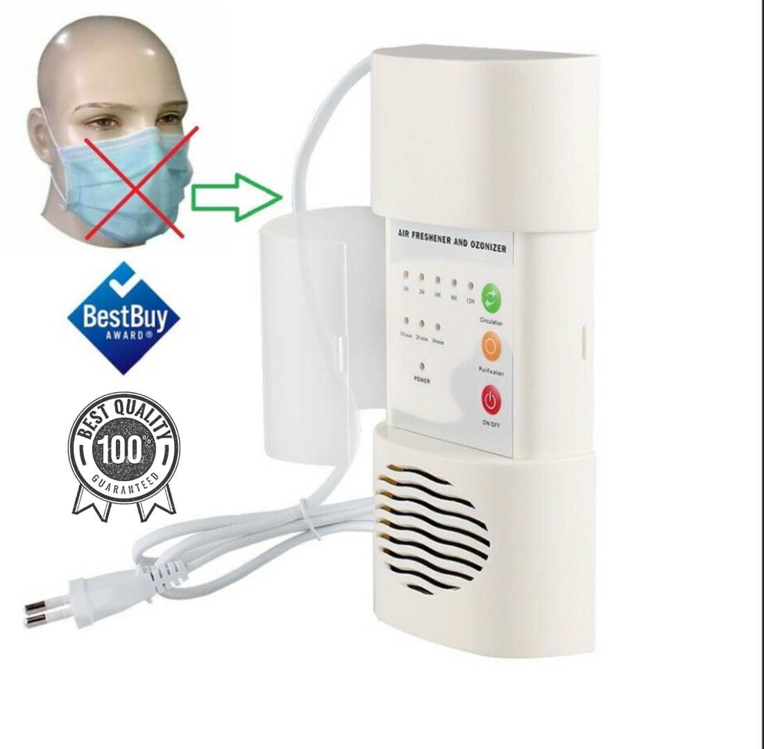 Air Ozone Generator Home Purifier H Odor Sterilizer Portable Deodorizer Ionizer