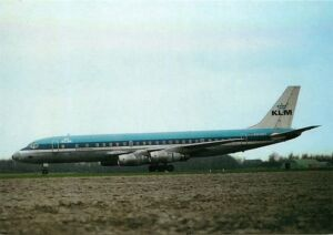 KLM AIRLINES DC 8 PH-DCT
