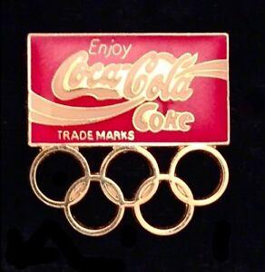 Coca-Cola-Olympic-Pin-Badge-Sponsor-undated-Coke-5-rings