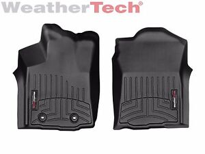 Details About Weathertech Floor Mats Floorliner For Toyota Tacoma 2016 2017 1st Row Black