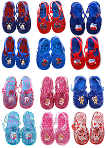 Boys-amp-Girls-Character-Mickey-Minnie-Mouse-Paw-Patrol-Frozen-Summer-Sandals-Shoe