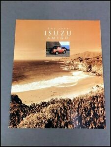 1994 Isuzu Amigo Original Car Sales Brochure Catalog
