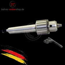 1.5-13mm key type drill chuck with MT4 morse taper arbor and M16 draw bar