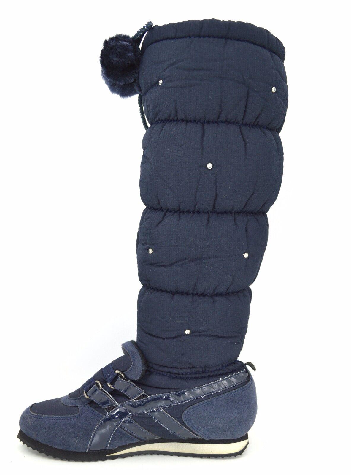 95a8b356d1dbc2 Stivali donna doposci caldi imbottiti scarpe bambina da neve scarponi  invernali