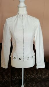 0 Jacket Etcetera White Set Jet New Women Size X01B4XqU