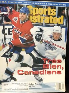Tres-Bien-Canadiens-Sports-Illustrated-Magazine-Cover-1993-Montreal-NHL
