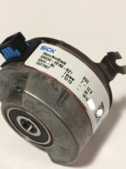 Used SICK SRS50-HFA0-K21 Encoder Tested