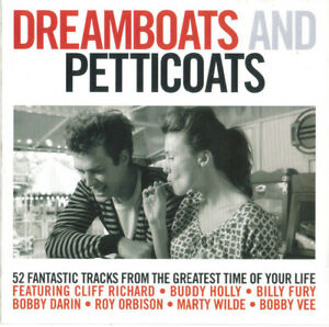 Various-Artists-Dreamboats-And-Petticoats-2-CD-NEW-CD