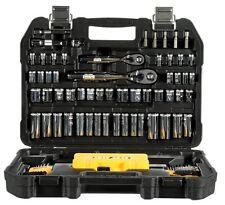 DEWALT 108 Piece Mechanics Tool Set DWMT73801 —Sockets 1/4 Inch & 3/8 Inch+Case
