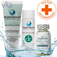 Regenepure Dr + Biotin Conditioner + Supplement Set, Advanced Hair Loss Formula