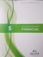 {Brand New} Becker Professional Education CPA Exam Review Financial FAR V3.0