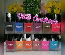 Juice matte nail polish ~Set of 12 Matte Nail Polish