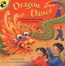 Lift-The-Flap, Puffin: Dragon Dance : A Chinese New Year by Joan Holub (2003, Paperback)
