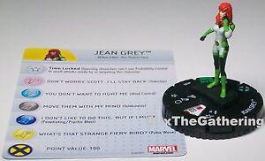 Marvel Heroclix Uncanny X-Men 025 Jean Grey Uncommon