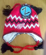Detroit Red Wings NHL Zephyr Sherpa Winter Knit Hat