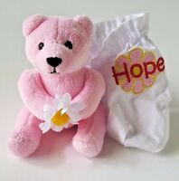 Herrington Teddy Bears Petit Fours hope Plush Stuffed Pink Teddy Bear 4