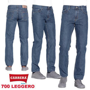 Pantaloni Jeans da uomo CARRERA art.700 leggero regular fit taglio dritto casual