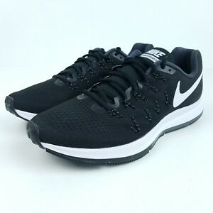 1039511ae47cc NIKE Air Zoom Pegasus 33 Mens Multi Sizes Shoes Black White 831352 ...