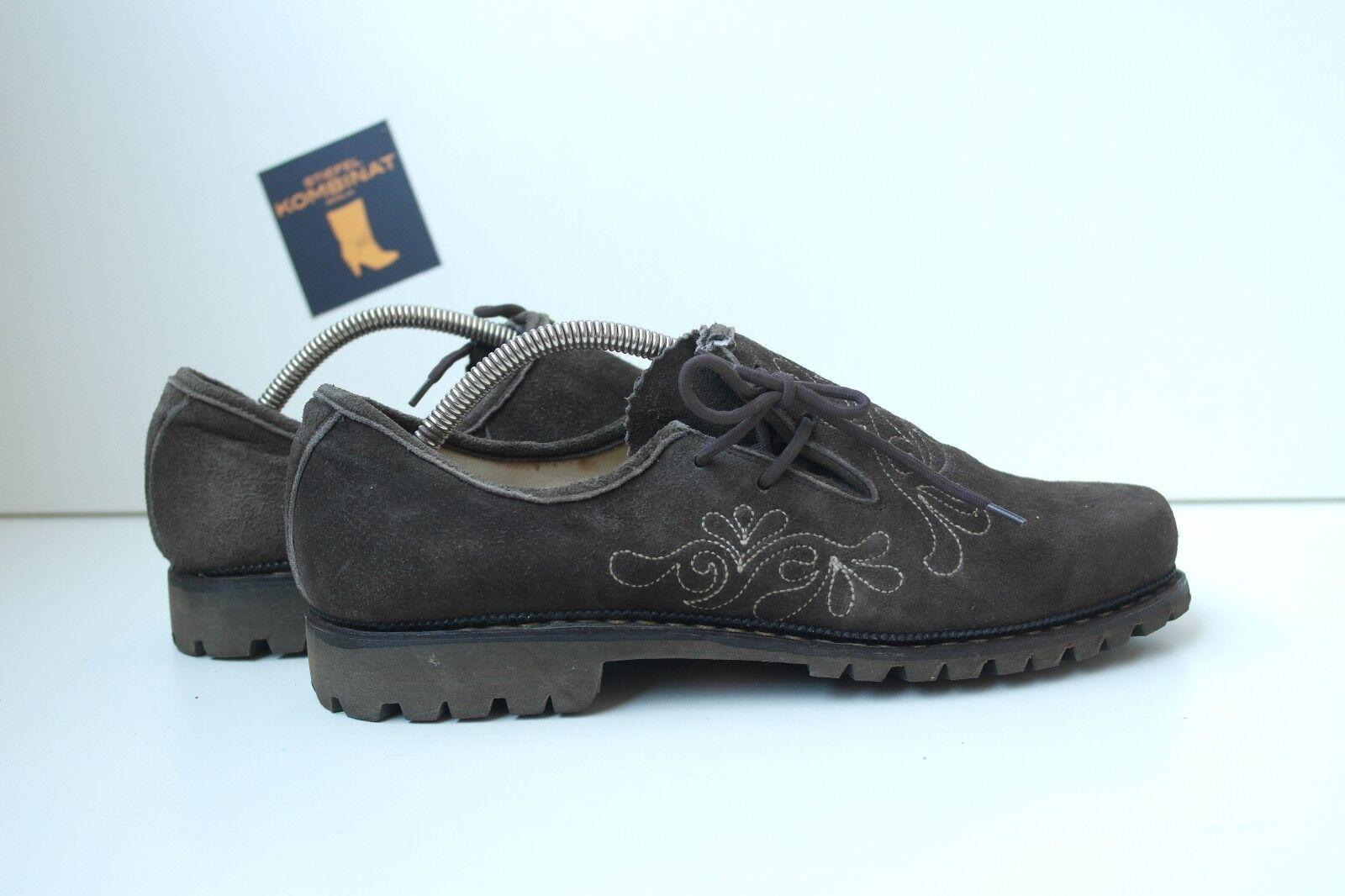Herren Trachten Schuhe Wiesn braun Halbschuhe TRUE Vintage Folklore braun Wiesn Braun loafer 6fee0c
