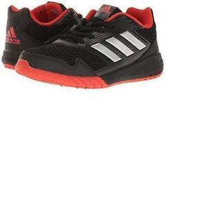 68152c7a3da Details about  adidas-Altarun-K-BA7422-Black-Silver-Running-Course-Junior-039-S-100%  Authentic