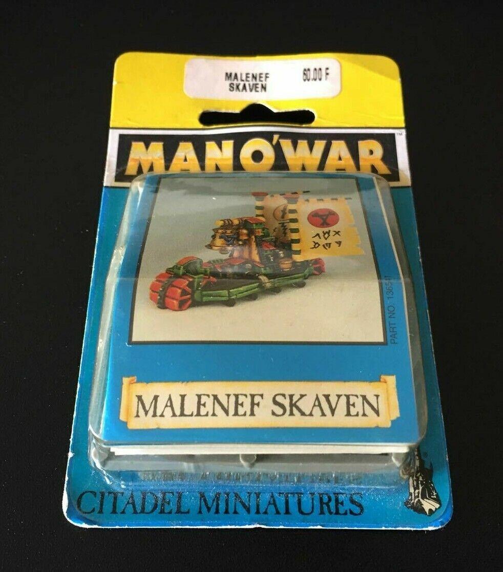 GW 1993 Warhammer hombre o guerra Skaven Doombringer en Caja  Sellado