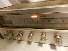 Vintage Pioneer SX-450 Stereo Receiver Japan Powers on but for Parts or Repair